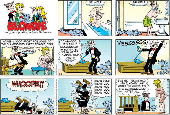 Dagwood and blondie sex comic