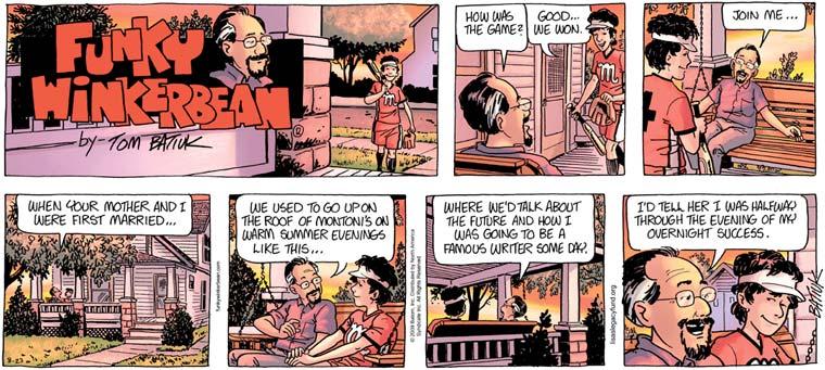 Feburary 14 funky winkerbean comic strip
