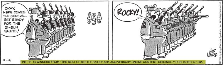 beetle bailey coloring pages - photo#24