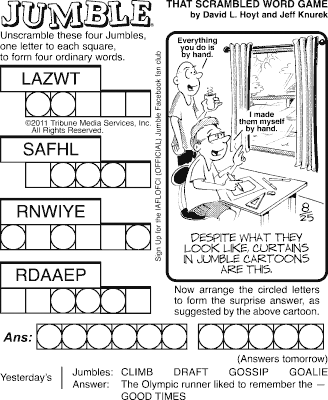 jumble solver 2 words jumble page 2 the comics curmudgeon 799