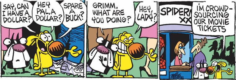 Look her mother goose comic strip email que maravilha morena!!!