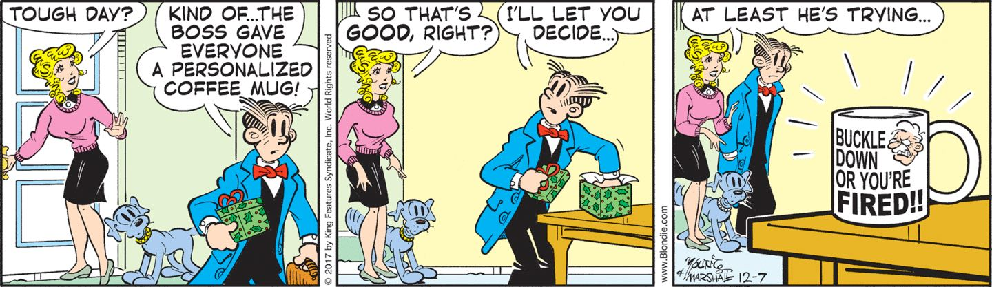 Remarkable, rather mr dithers blondie comie strip